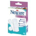 Nexcare soft strips Assortiment 40 strips